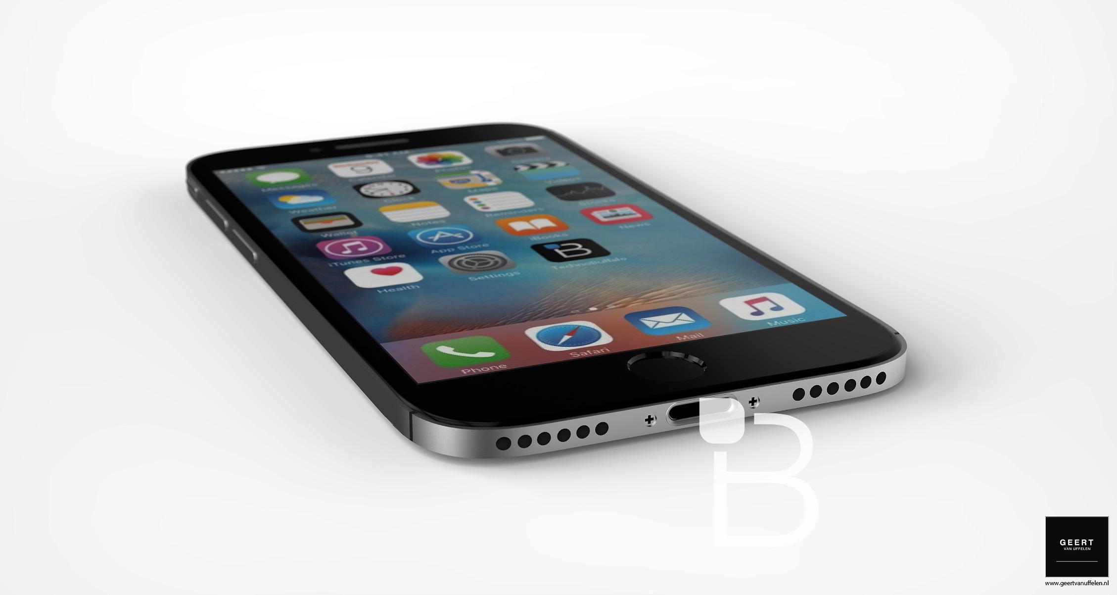 iPhone 7 sẽ thay jack 3.5mm bằng loa ngoài thứ 2