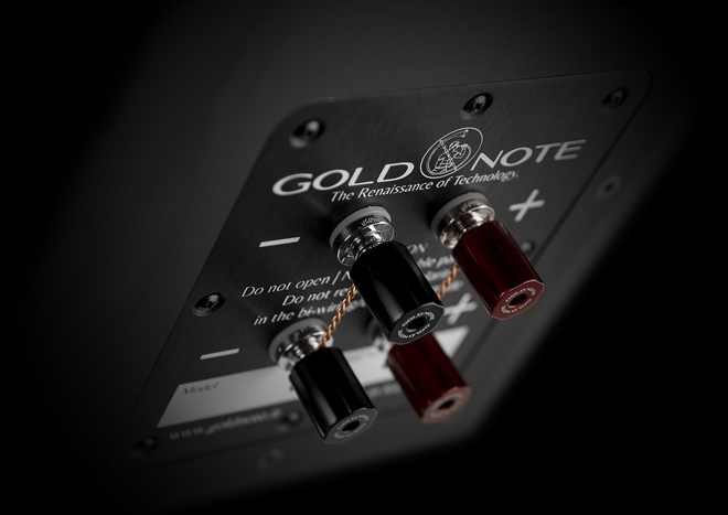 Gold Note giới thiệu dòng loa bookshelf bass-reflex A3-XL