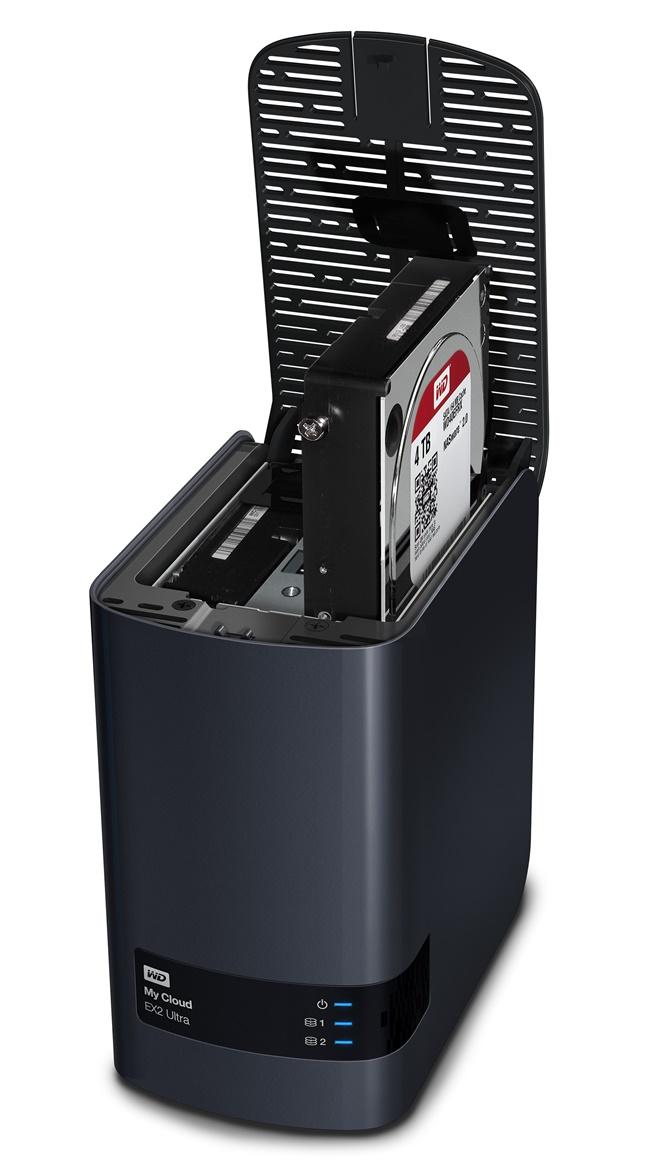 WD ra mắt ổ NAS My Cloud EX2 Ultra: tốc độ gấp đôi, nâng cao đa nhiệm