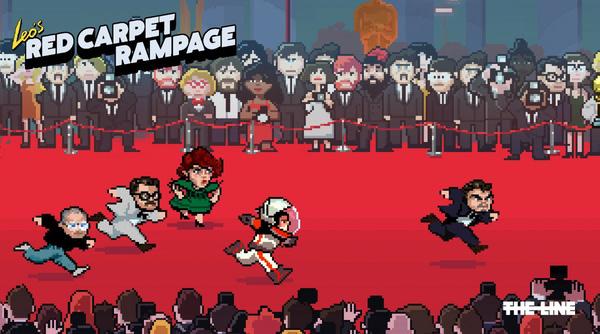 """Phát sốt với webgame giúp Leo DiCaprio """"đuổi"""" tượng Oscar"""
