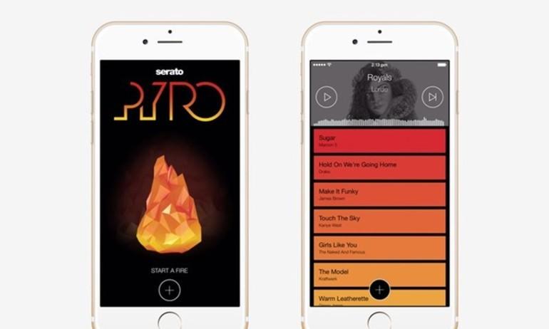 """Serato Pyro: ứng dụng tự động """"DJ nhạc"""" dành cho iPhone"""