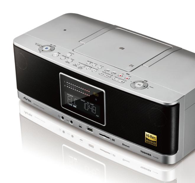 Toshiba ra mắt Aurex TY-AH1000, boombox hỗ trợ Hi-res audio