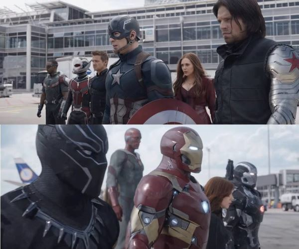 """""""Captain America: Civil War"""" lôi cuốn khán giả ngay ngày chiếu thử"""