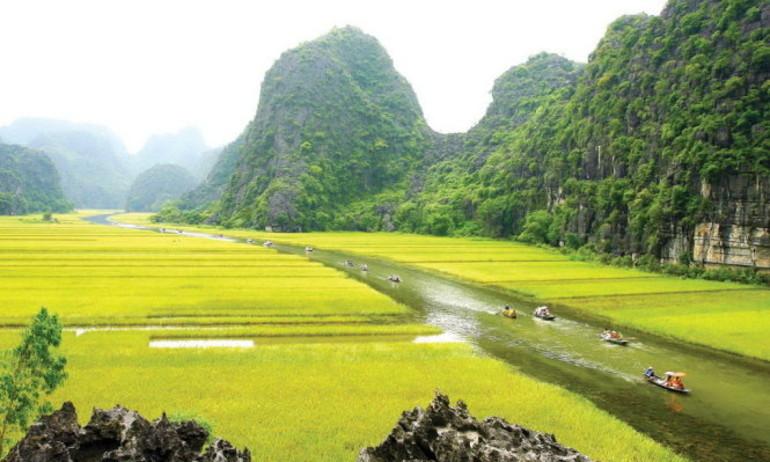 """Hình ảnh cuối của phim trường """"King Kong"""" tại Ninh Bình"""