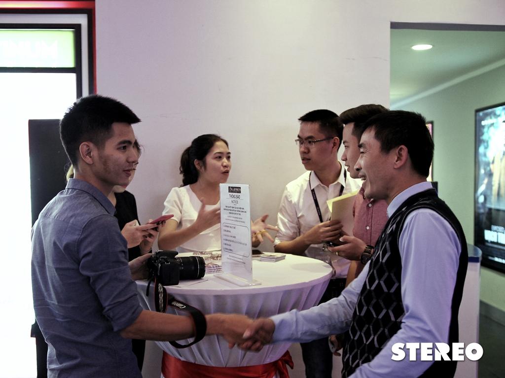 Hình ảnh buổi họp báo ra mắt London Thất Thủ tại Platinum Cineplex
