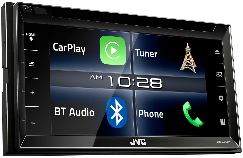 JVC ra mắt KW-V820BT, đầu player đa năng hỗ trợ Apple CarPlay cho xe hơi