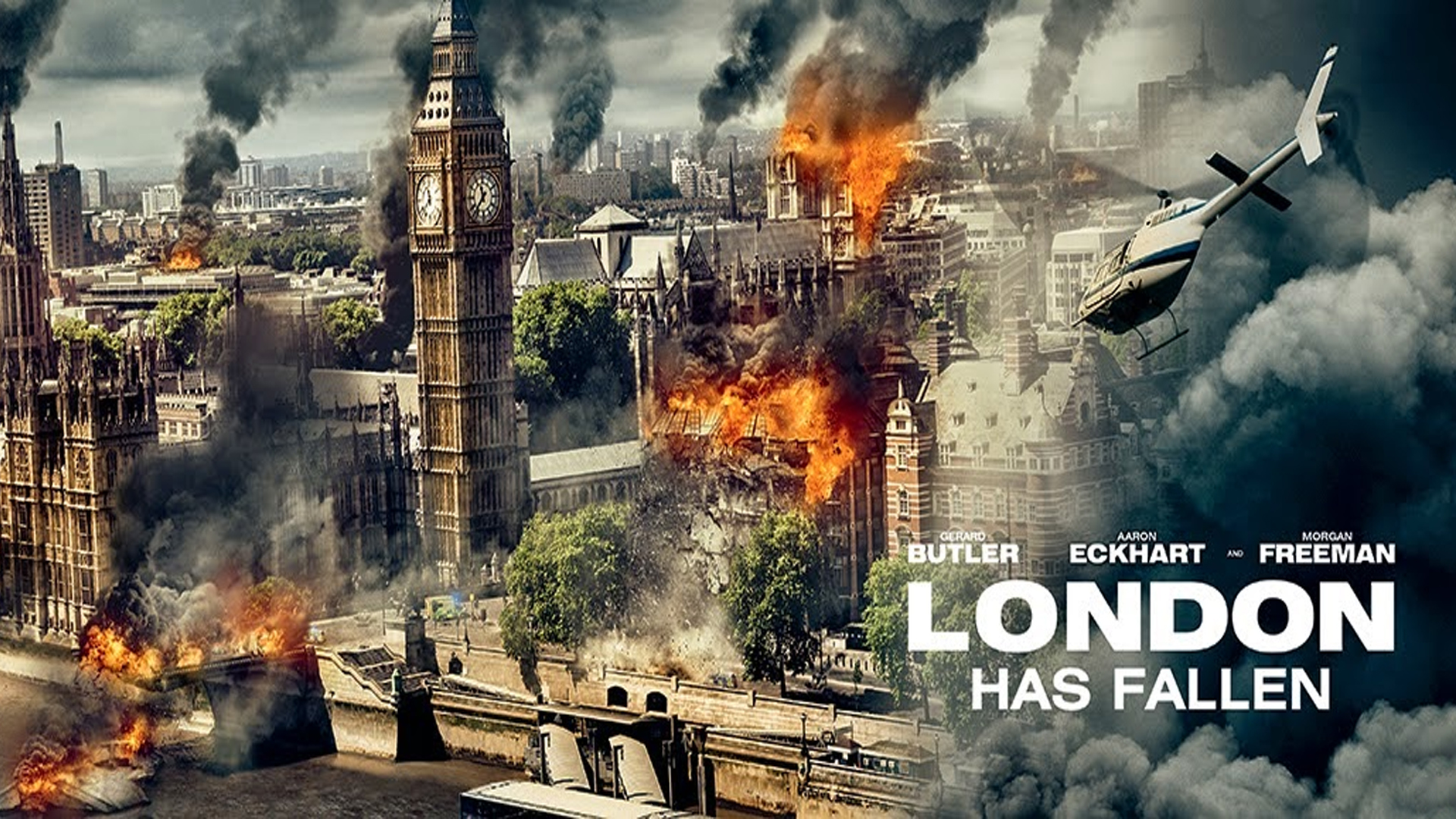 """""""London thất thủ"""" – Màn trình diễn cá nhân của Gerard Butler"""