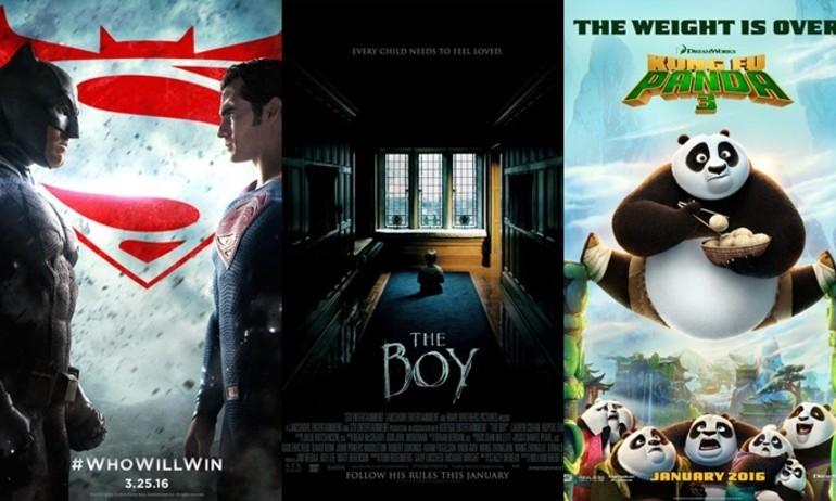 Những bộ phim được săn đón trong tháng 3/2016
