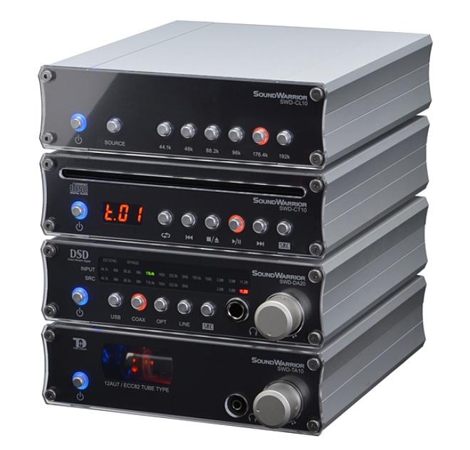 Sound Warrior SWD-DA20, combo headamp – DAC hỗ trợ SRC, giá 17 triệu đồng