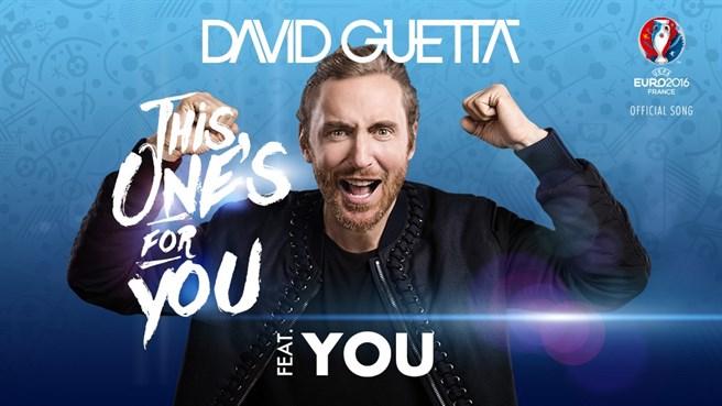 Tham dự EURO 2016 bằng cách góp giọng cùng David Guetta