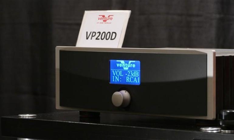 Verture Audio VP200D – Preampli tích hợp DAC giải mã DSD, giá 1,3 tỷ đồng