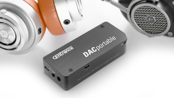 Centrance giới thiệu DAC/ampli di động nhỏ gọn DACportable