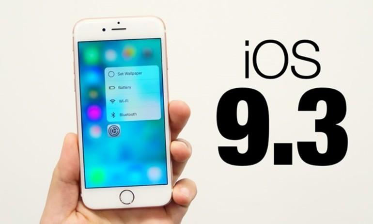 iOS 9.3 bổ sung âm thanh vòm Dolby Digital 7.1 và nhiều tính năng thú vị