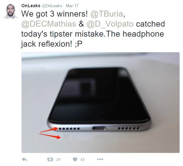 """Hình ảnh rò rỉ iPhone 7 không nút Home chỉ là """"hư cấu"""""""