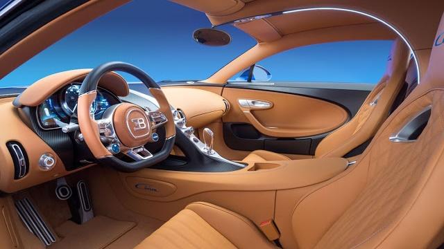 Bugatti trang bị cho siêu xe Chiron hệ thống loa hi-end của Accuton