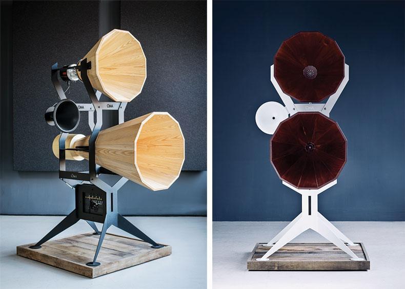 Oswalds Mill Audio Imperia: Cặp loa kèn gỗ giá 6,2 tỷ Đồng