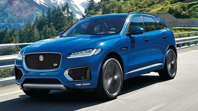 Jaguar F-Pace sẽ đi kèm hệ thống âm thanh Meridian 11 loa, 380watt