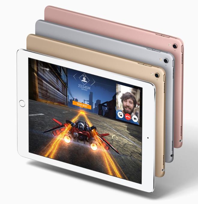 Apple giới thiệu iPad Pro 9,7inch: nhỏ hơn, giảm 200USD, cải tiến camera