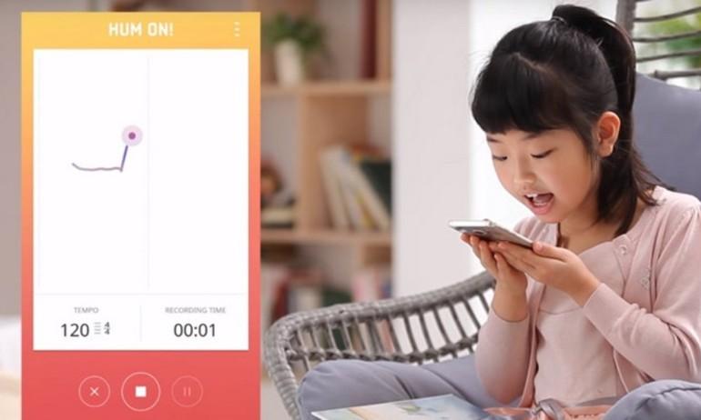 Samsung ra mắt Hum On!: ứng dụng chuyển tiếng ngân nga thành giai điệu nhạc