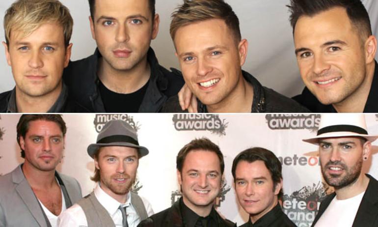 """Westlife và Boyzone sắp """"hợp nhất"""", chuẩn bị đi tour toàn cầu"""