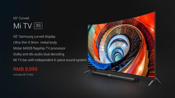 Xiaomi ra mắt TV 4K màn hình cong, siêu mỏng, giá 30 triệu