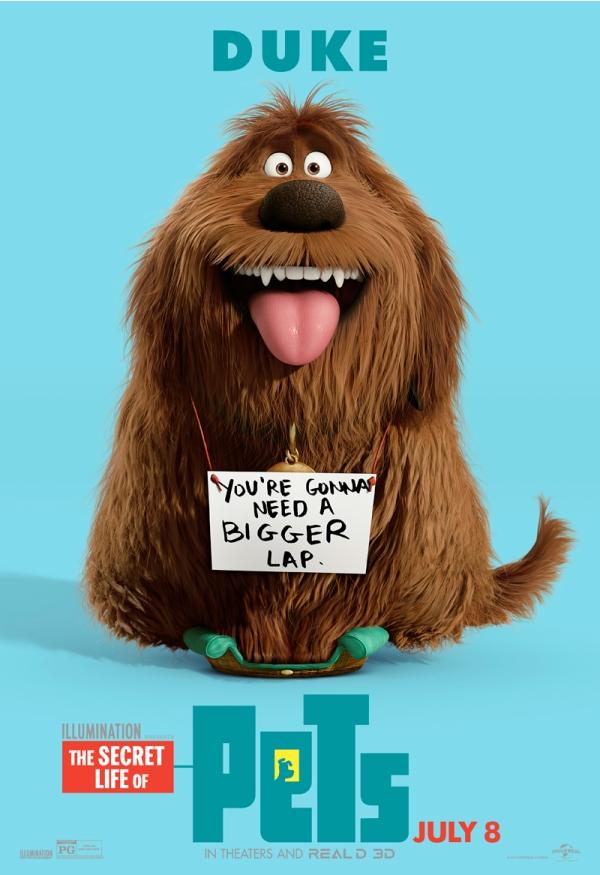 """Điểm mặt các thú cưng siêu đáng yêu trong """"The Secret Life of Pets"""""""