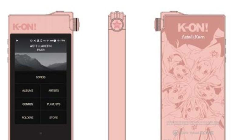 Astell&Kern ra mắt phiên bản đặc biệt AK100II K-ON! Edition tại Nhật Bản