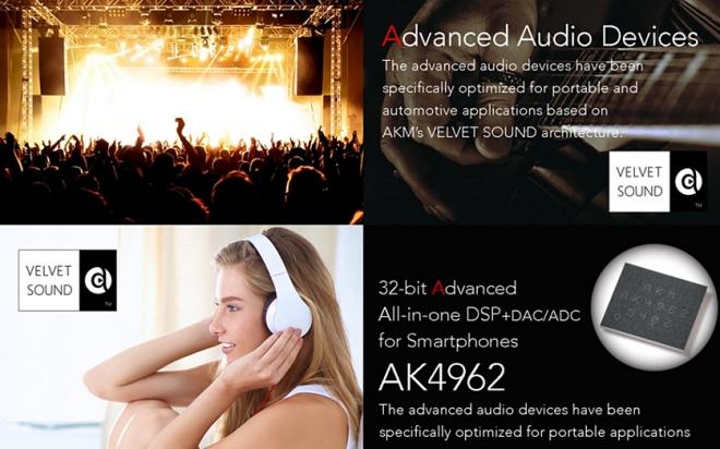 AKM giới thiệu chip codec AK4962ECB tích hợp chống ồn cho smartphone