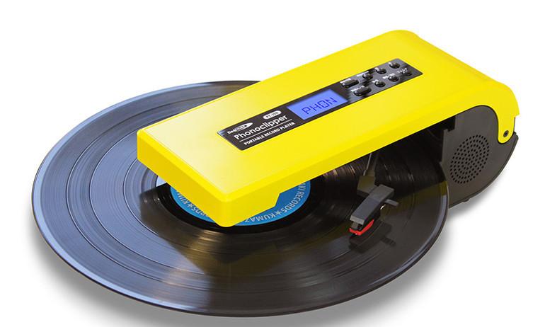 """Bearmax Phono Clipper – khi mâm đĩa nhựa cũng có thể """"di động hóa"""""""