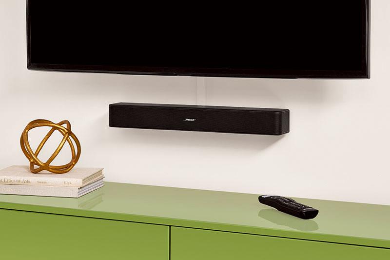 Bose ra mắt loa Sound bar Solo 5 nhỏ gọn giá mềm