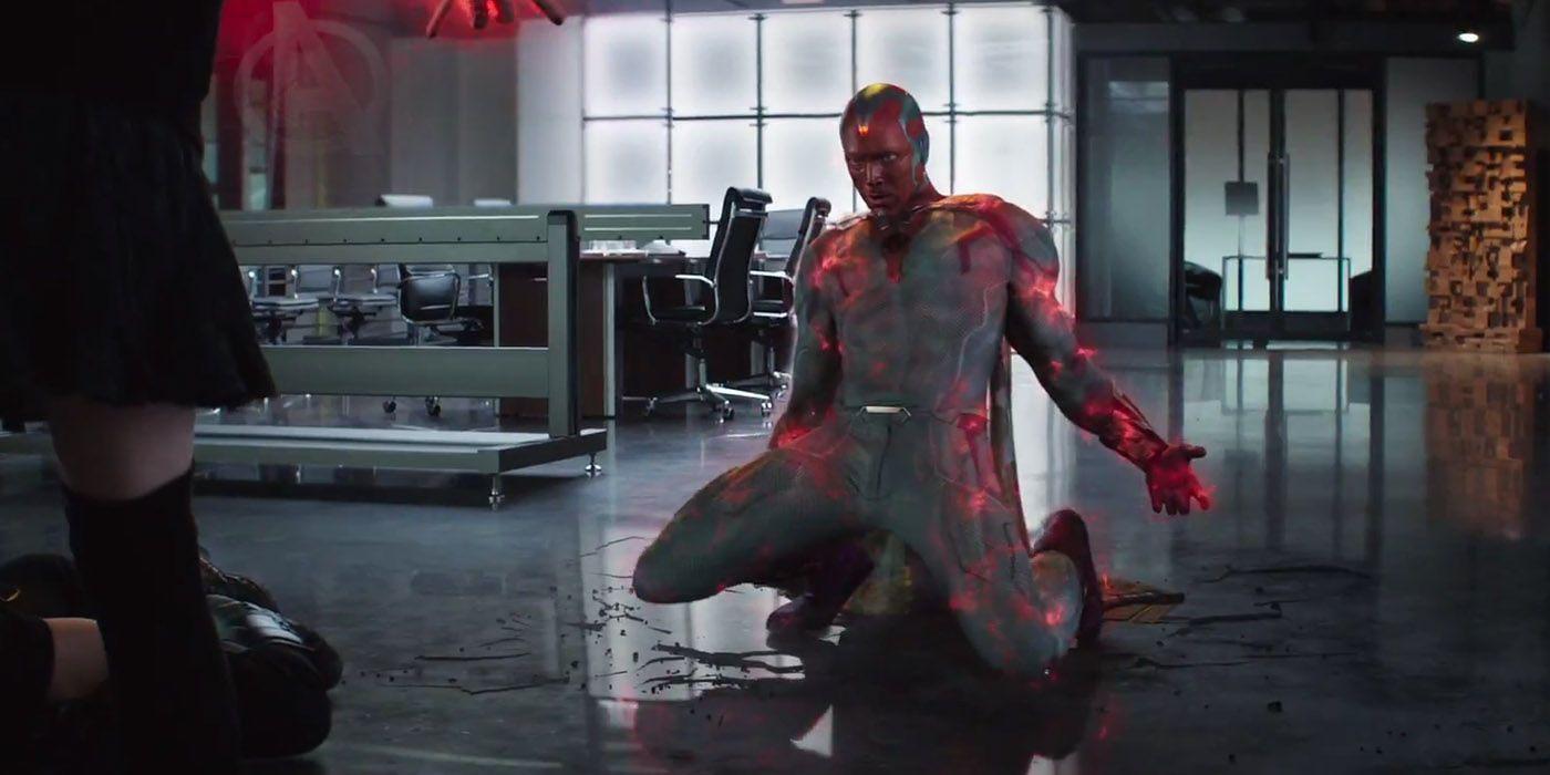 Captain America 3 – Tình yêu khó hiểu của Scarlet Witch và The Vision