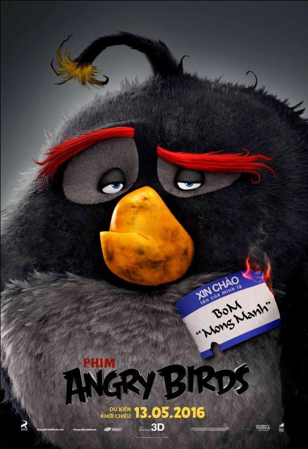 """Cười nghiêng ngả với chú hề Red trong """"The Angry Birds Movie"""""""