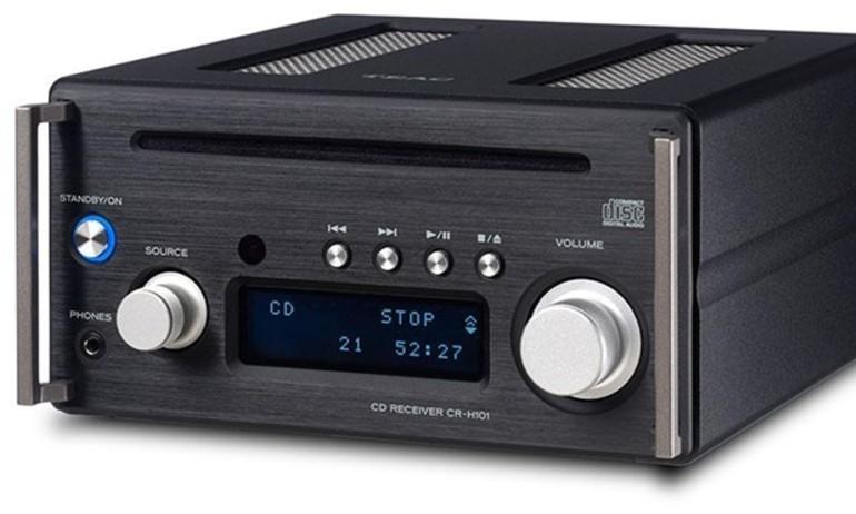 TEAC CR-H101DAB: hệ thống mini chơi nhạc hi-res không dây