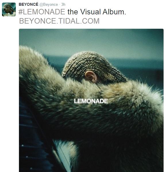 """Fan no nê với album """"Lemonade"""" và phim ca nhạc của Beyoncé"""