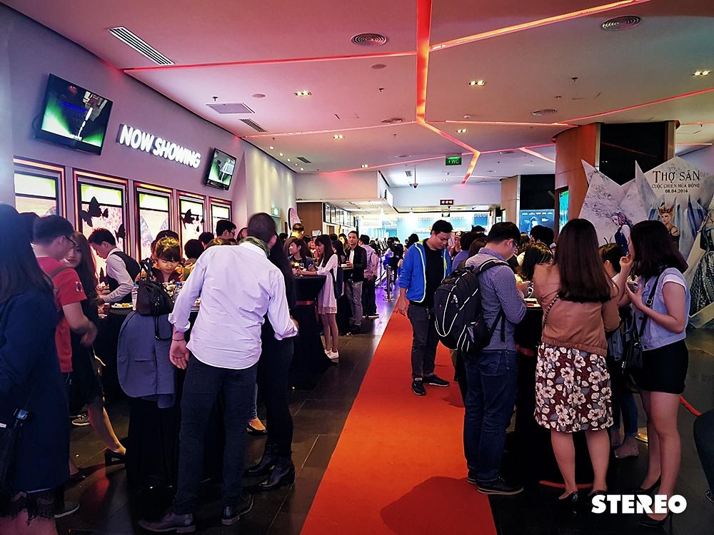 Hình ảnh họp báo ra mắt Ác Mộng tại Platinum Cineplex