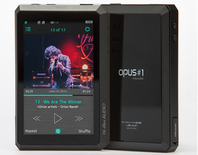 The BIT ra mắt OPUS #1, máy nghe nhạc sử dụng dual DAC chất lượng cao