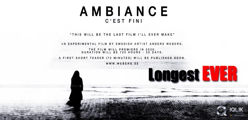 """""""Ambiancé"""" tung trailer dài… 7 tiếng 20 phút"""