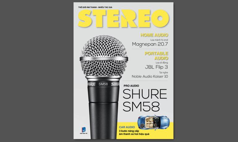 Ấn bản Stereo tháng 4.2016 chính thức ra mắt độc giả