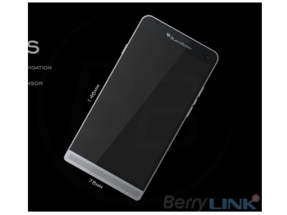 Rò rỉ hình ảnh Blackberry Hamburg và Rome chạy Android
