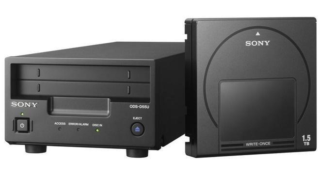 Sony ra mắt chuẩn đĩa quang có dung lượng 3,3TB, lưu được 100 năm
