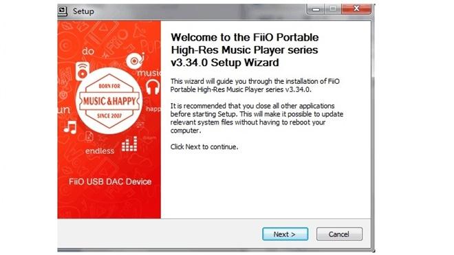 Các máy nghe nhạc Fiio đã dùng được như USB DAC, trừ X1 và M3