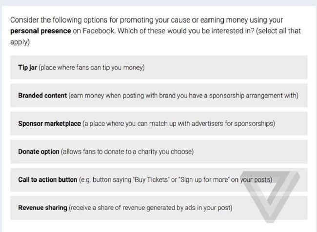 Sắp tới, người dùng có thể được trả tiền khi dùng Facebook