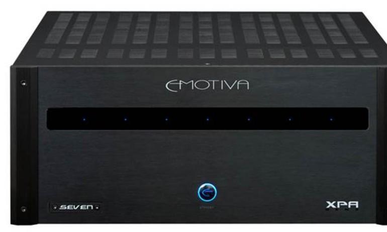 Emotiva giới thiệu ampli XPA Gen 3: dễ dàng nâng cấp từ 2.0 lên 7.1