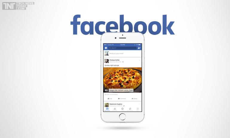 Facebook ra mắt tính năng để người mù cũng xem được ảnh