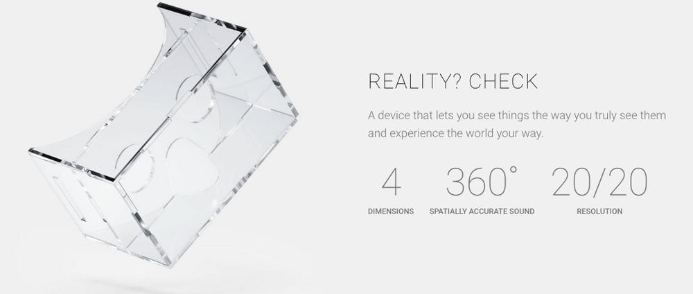 """Google ra mắt kính """"Thực tế-Thực"""" đầu tiên trên thế giới"""
