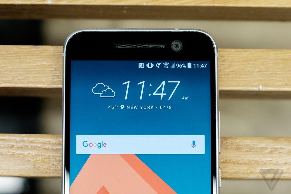 HTC 10 ra mắt: Vẫn còn loa đôi, camera đổi mới, thiết kế pha trộn