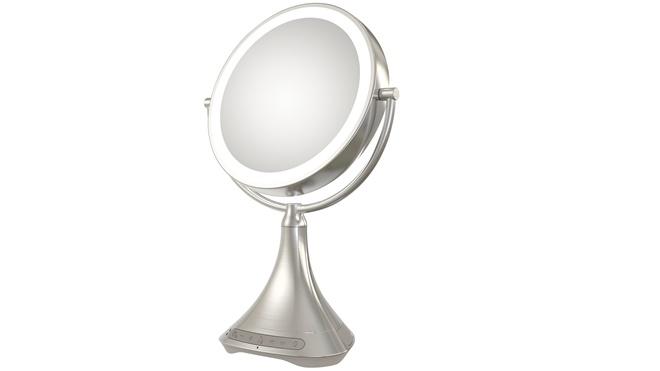 iHome giới thiệu loa mang hình dáng gương trang điểm