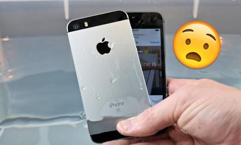 iPhone SE cũng bí mật có khả năng chống nước?