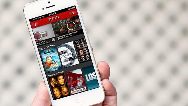 Netflix cho phép lưu phim xem offline khi không có Internet