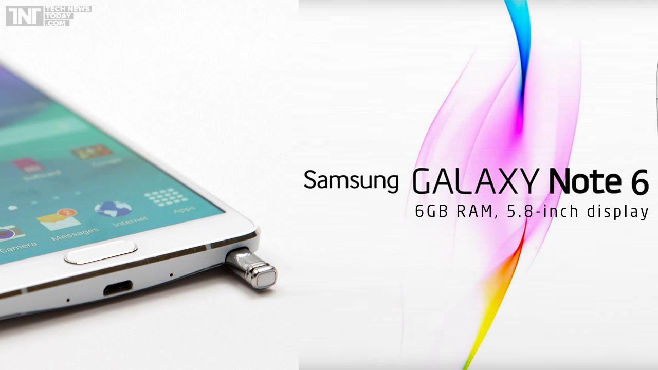 Galaxy Note 6 có thể có màn hình cong, ra mắt sớm